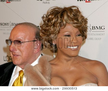 LOS ANGELES - FEB 10:  Clive Davis, Whitney Houston arrives at the Clive Davis Annual Pre-Grammy Party at Beverly Hilton Hotel on February 10, 2007in Beverly Hills, CA