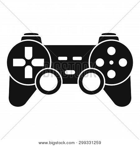 Ergonomic Joystick Icon. Simple Illustration Of Ergonomic Joystick Icon For Web Design Isolated On W
