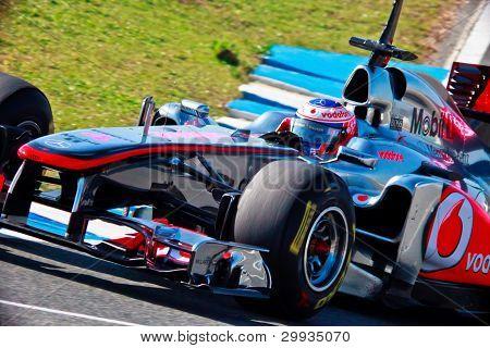 Team Mclaren F1, Jenson Button, 2011
