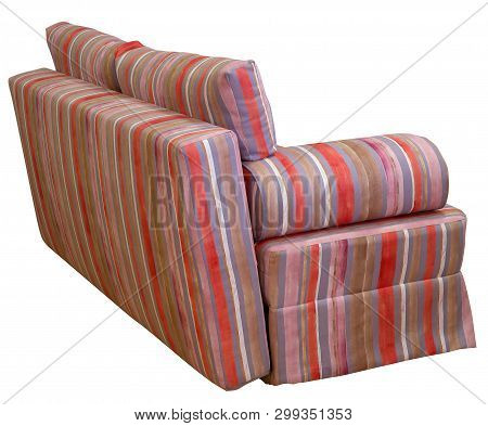 Colorful Striped Sofa Image & Photo (Free Trial) | Bigstock