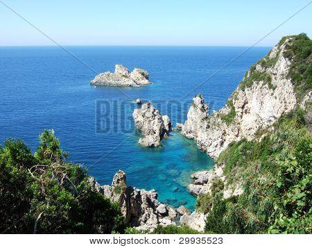 Greece, Korfu island, Paleokastritsa