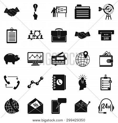 Public Attitude Icons Set. Simple Set Of 25 Public Attitude Icons For Web Isolated On White Backgrou