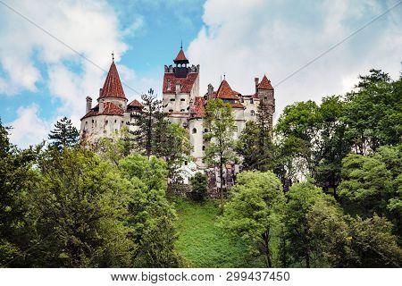 Dracula Medieval Bran Castle Of Transylvania, Brasov Region, Romania