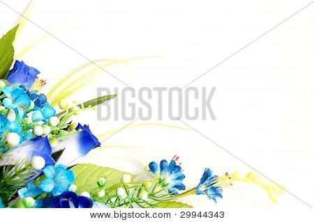 flower design with empty space
