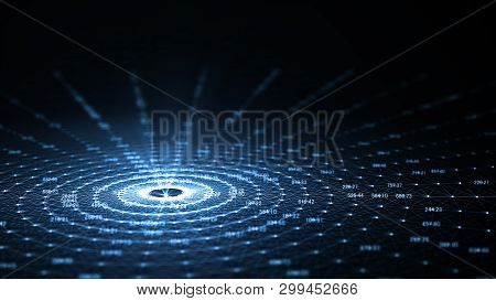 Technology Artificial Intelligence (ai) And Internet Of Things Iot  Network Animation Concept .big D