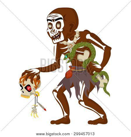 African Voodoo Witchcraft Hoodoo Shaman Dungeon Dark Wood Evil Minion Fantasy Medieval Action Rpg Ga