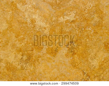 The Texture Of The Plaster. Horizontal Photo, Heterogeneous Texture And Stains