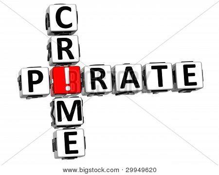 3D Digital Crime Crossword