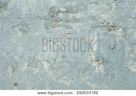 Old Gray Grunge Textures Wall Background. Perfect Background With Space.