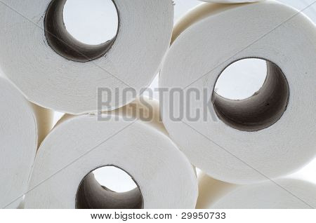 Stack of Toilet Papers