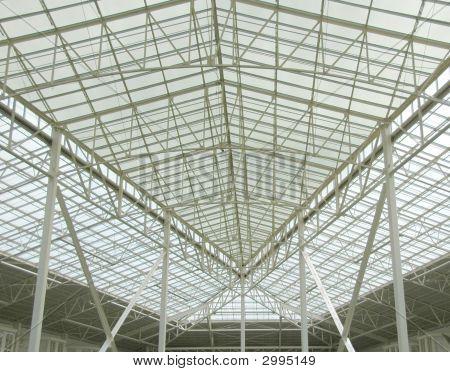 Large Glass Atrium Scence