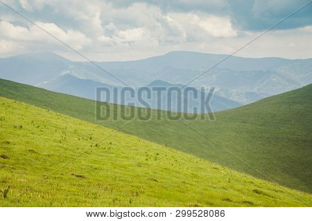 Landscape Of Balkan Mountains With Vratsata Pass, Bulgaria