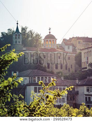 Veliko Tarnovo, Bulgaria - View Of St. Constantine And Helena Church