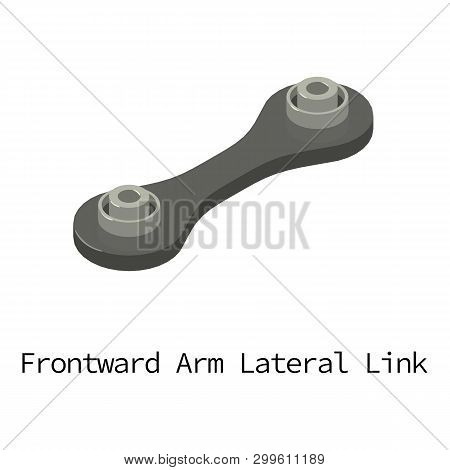 Lateral Car Icon. Isometric Illustration Of Lateral Car Icon For Web