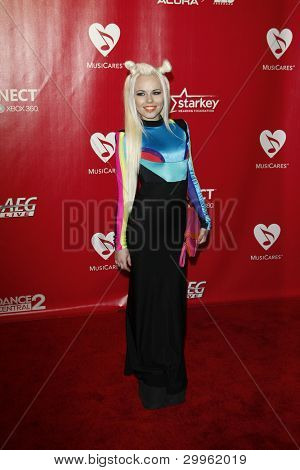LOS ANGELES, CA - FEB 10: Kerli at the 2012 MusiCares Person of the Year Tribute To Paul McCartney at the LA Convention Center on February 10, 2012 in Los Angeles, California