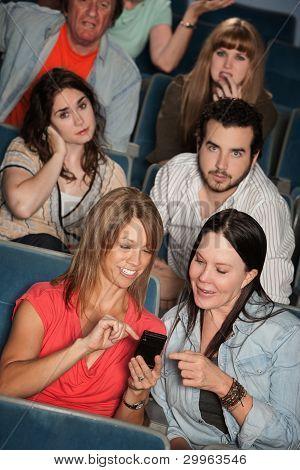 Irritated Audience