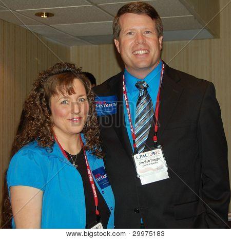WASHINGTON, DC FEBRUARY 2012 MICHELLE AND JIM BOB DUGGAR