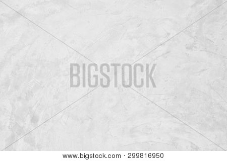 Grunge Cement Wall Paint Texture Background , Closeup Grunge Texture White Paint Concrete Wall Archi