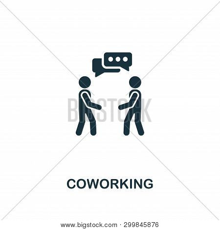 Coworking Icon. Premium Style Design From Startup Icon Collection. Ui And Ux. Pixel Perfect Coworkin