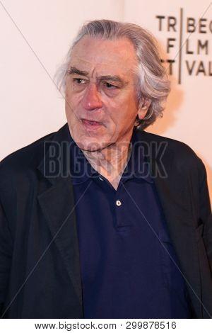NEW YORK, NY - MAY 03. 2019: Robert De Niro attends at