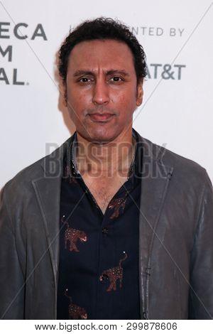 NEW YORK, NY - MAY 03. 2019: Actor Aasif Mandvi  attends at