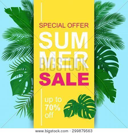 Vector Summer Sale Vector & Photo (Free Trial) | Bigstock