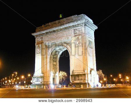 Bucharest Triumph Arc