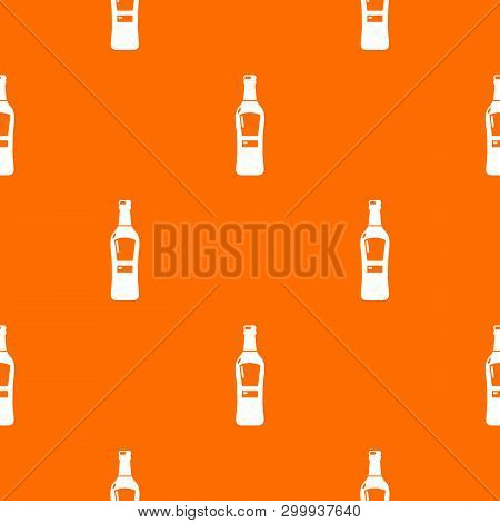 Bourbon Pattern Vector Orange For Any Web Design Best