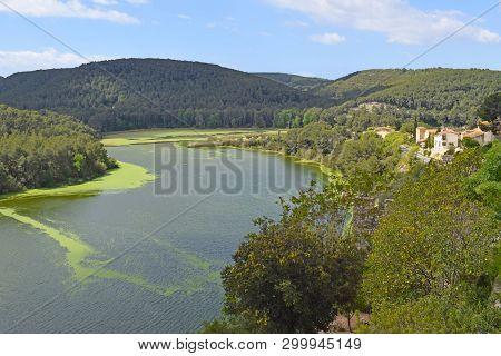 Pantano De Foix In The Province Of Barcelona