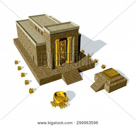 Old Testament, The Temple Of Solomon Was The First Holy Temple Of The Ancient Israelites, Located In