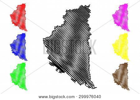 Ternopil Oblast (administrative Divisions Of Ukraine, Oblasts Of Ukraine) Map Vector Illustration, S
