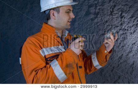 Ingeniero inspección Mineral
