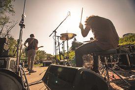 Drummer At The Rock Concert #2
