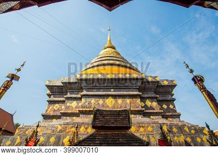 Wat Phra That Lampang Luang Pagoda An Iconic Buddhist Temple Was Founded In The 13th Century, One Of