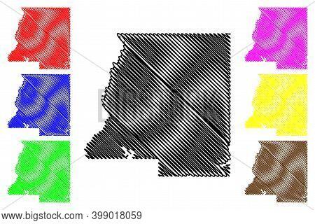 Le Sueur County, Minnesota (u.s. County, United States Of America, Usa, U.s., Us) Map Vector Illustr