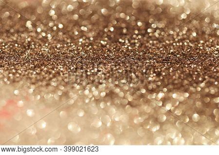 Beige Glitter Glow Background. Gold Shiny Texture.new Year And Christmas Background.wallpaper Phone