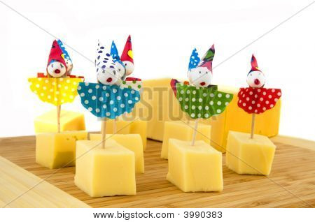 Cheese Cubes For Child Party