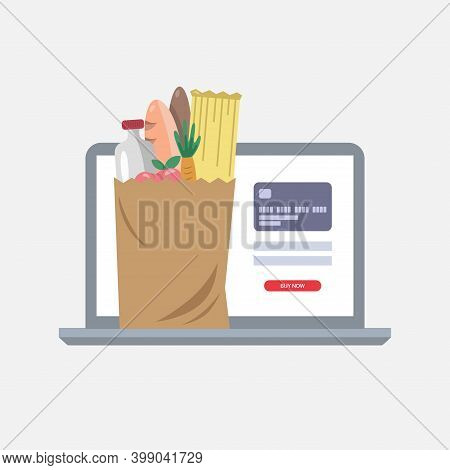Online Grocery Shopping. Online Grocery Ordering. Food Shopping. Paying Online. Online Grocery Deliv