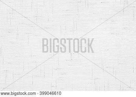 A White Gauze Texture With Linear Drawings. Background For Invitations, Presentations, Posters. Mate