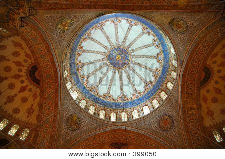 Roof Of Blue Mosque