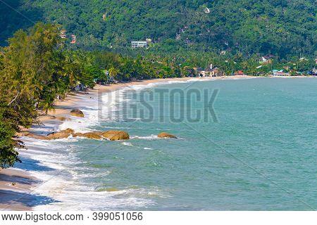 Close Up Photo, Lamai Beach On Koh Samui Island In Thailand, Popular Holiday Destination, Gulf Of Th