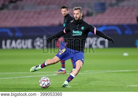 Barcelona (spain). 08th December 2020. Miralem Pjanic Of Fc Barcelona   During The Uefa Champions Le