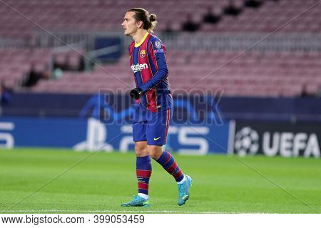 Barcelona (spain). 08th December 2020. Antoine Griezmann Of Fc Barcelona   During The Uefa Champions