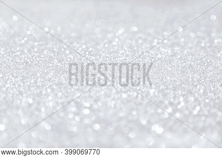 Beautiful Festive Shine Glitter Bright Ultimate Glowing Grey Background Blur, Radiance. Perfect Back