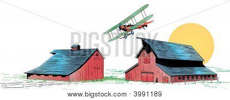 Barnstorming Illustration