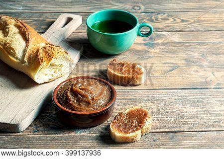 French Breakfast With Chestnut Cream