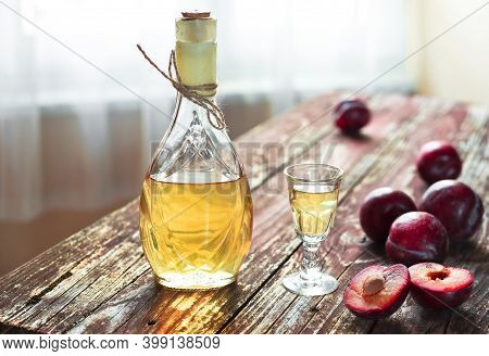 Traditional Balkan Plum Brandy - Slivovica