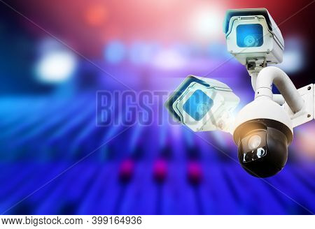Cctv Camera System, Home Security Technology Condo Outside Security 380 Degree Dome Inside The House