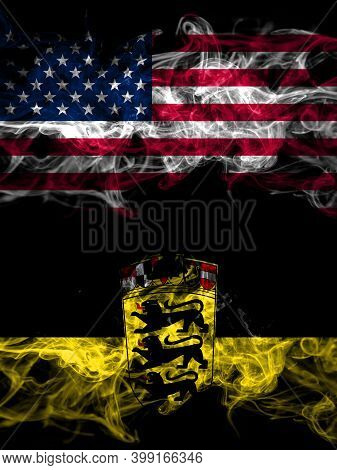 United States Of America, America, Us, Usa, American Vs Germany, German, Deutschland, Baden Wurttemb