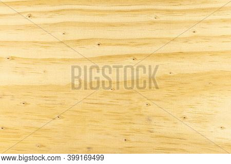 Background Made From A Wooden Plank, Covered With Wooden Knots.
